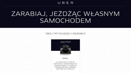 Uber Warszawa