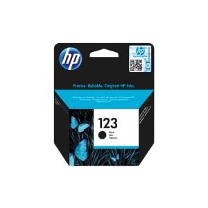HP 123 Black Original Ink Cartridge (F6V17AE)