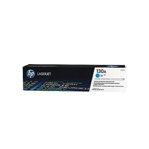 HP 130A Cyan Original LaserJet Toner Cartridge (CF351A),