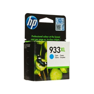HP 933XL High Yield Cyan Original Ink Cartridge (CN054AE)
