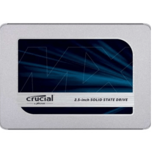 Crucial MX500 1TB SATA 2.5-inch 7mm (with 9.5mm adapter) Internal SSD CT1000MX500SSD1