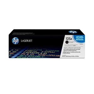 HP 125A Black Original LaserJet Toner Cartridge CB540A