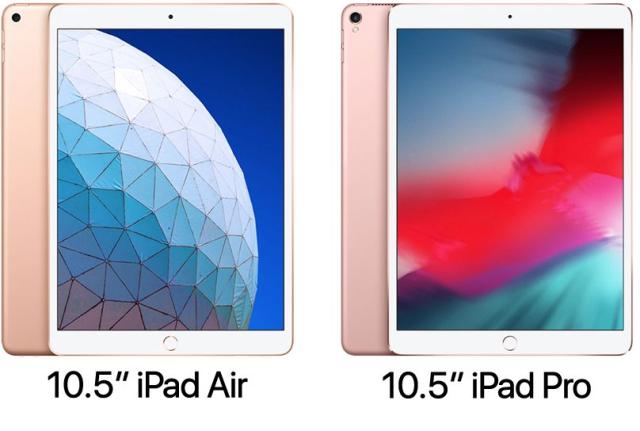 iPad Air vs iPad Pro