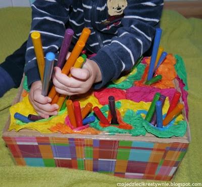 zabawy dla małych dzieci