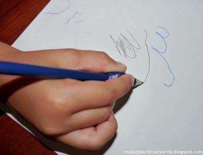 prawidłowy chwyt ołówka