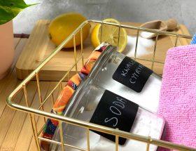 eko porządki soda kwasek ścierki czysty dom