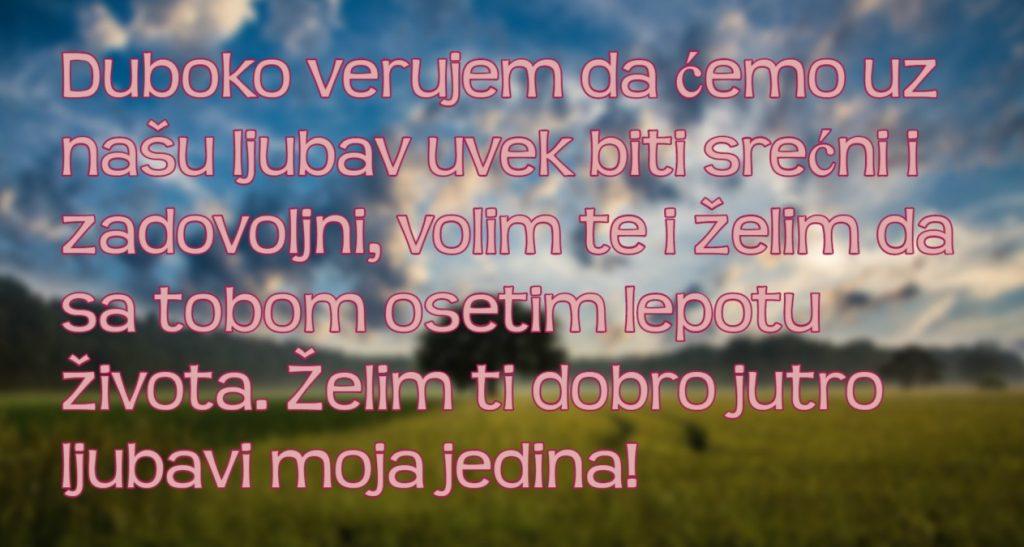 Stihovi za jutro ljubavni dobro Ljubavni stihovi