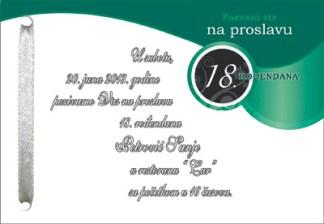 18. rodjendan