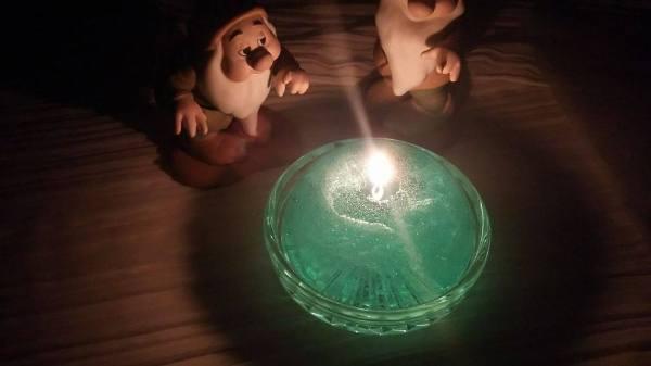 kutsurogi-candle