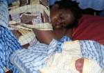 Mad Woman Gives Birth In Kaduna Market