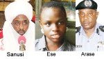 Nigerians Carpet IG, Emir Of Kano Sanusi Over Abduction, Forced Marriage Of 14 Year Old Girl Ese