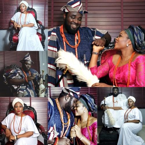 Check Out These Beautiful Royalty Themed Pre-Wedding Photos Of Media Guru Kingley Egbe(iCrea8 Media)