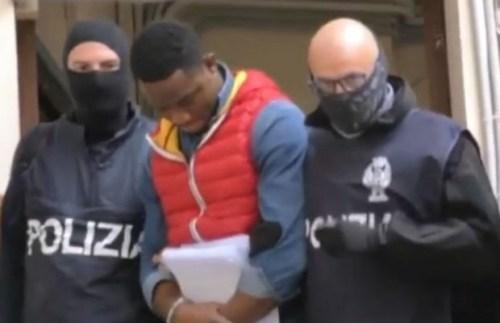 20 Nigerians Black Axe Mafia Gang Members Arrested By Italian Police