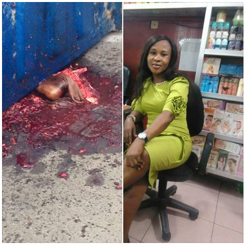 Update: Lady Who Lost Her Legs In Container Accident Survived(EXTREMELY GRAPHIC PHOTOS)