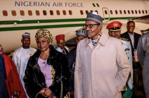 Photos: President Arrives France For Peace Forum