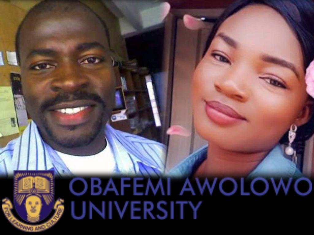 A photo collage of Olabisi Olaleye and  Motunrayo Afolayan