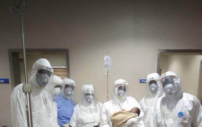 Coronavirus patients deliver baby in Lagos