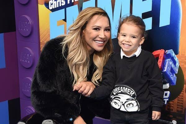 Naya Rivera and her son