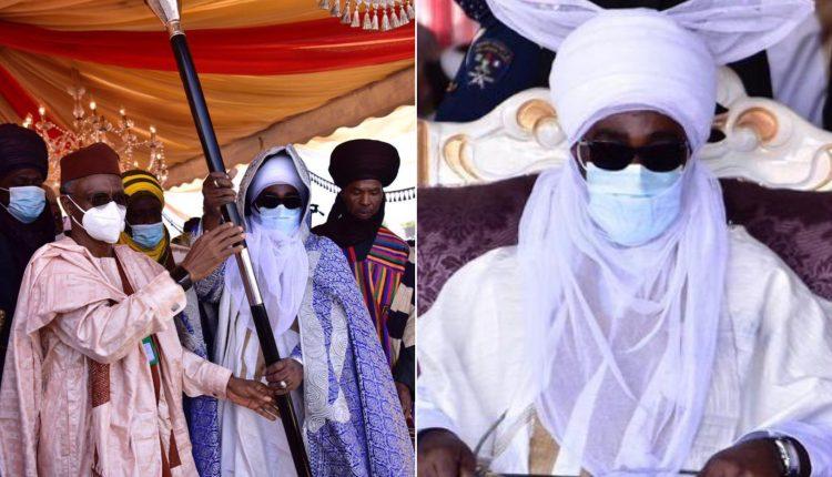 19th Emir Of Zazzau, Amb Bamali Receives Staff Of Office