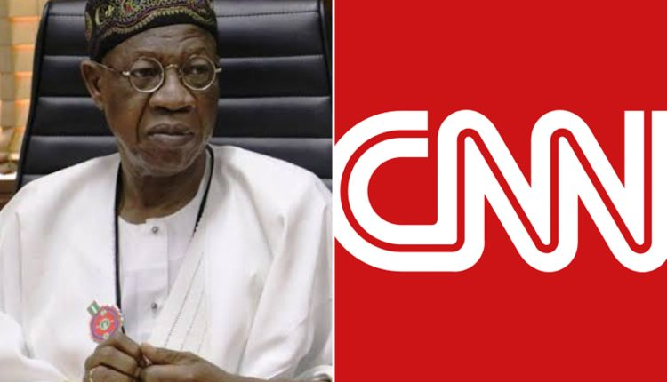 FG Petitions CNN Over Lekki Shooting Report, Threatens Legal Action