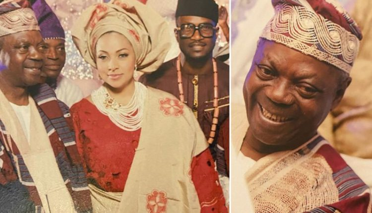 Peter Okoye's Wife, Lola Loses Her Father
