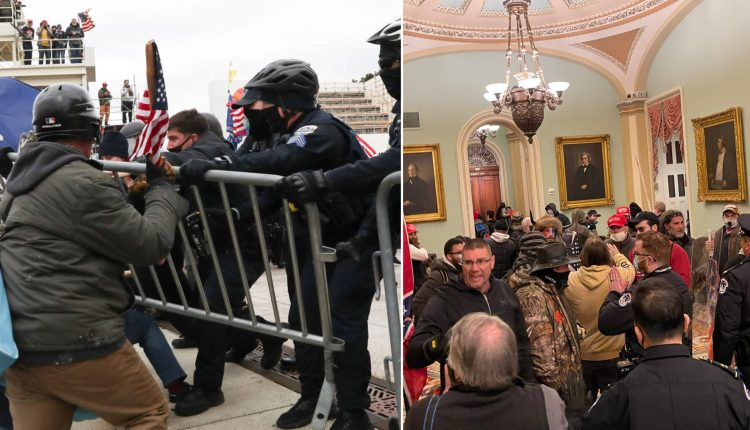 Election Result: Pro-Trump Protesters Storm US Capitol As Lawmakers Gather To Count Electoral Votes