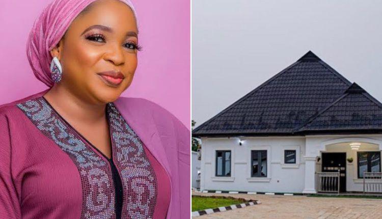 Actress Kemi Afolabi Builds New House