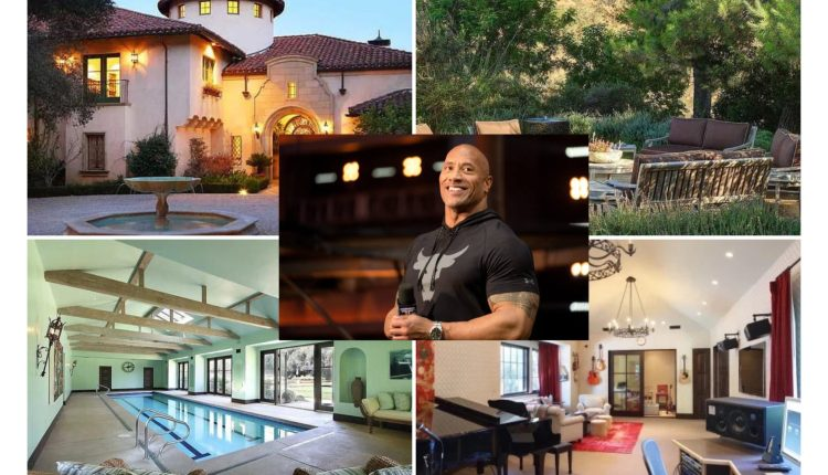 The Rock, WWE Legend And Actor, Acquires Six-Bedroom Mansion For $27.8m