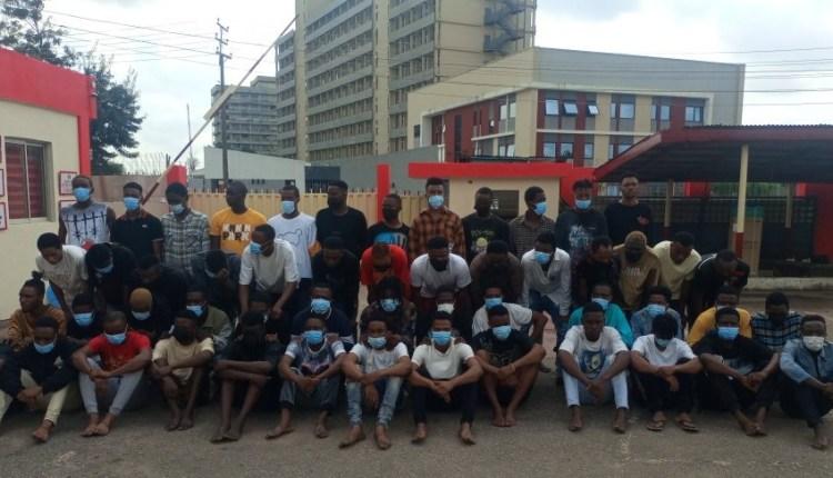 EFCC Arrests 52 Alleged Internet Fraudsters in Benin City