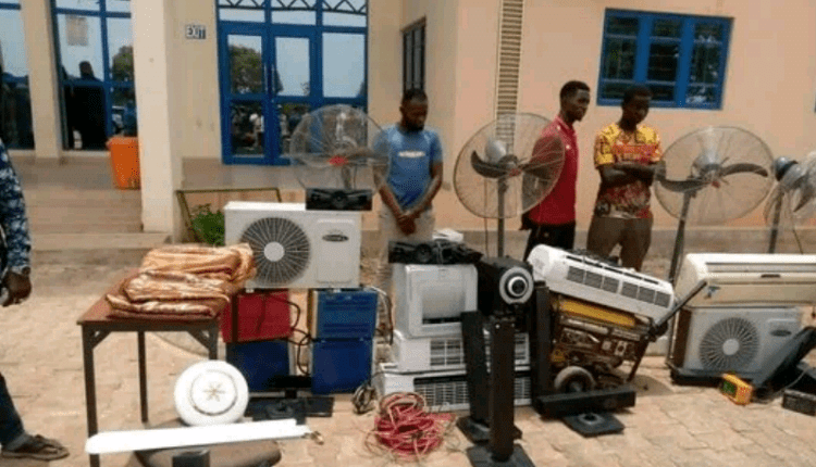 Two Bida Poly Students Arrested For Alleged Burglary, Theft On Campus