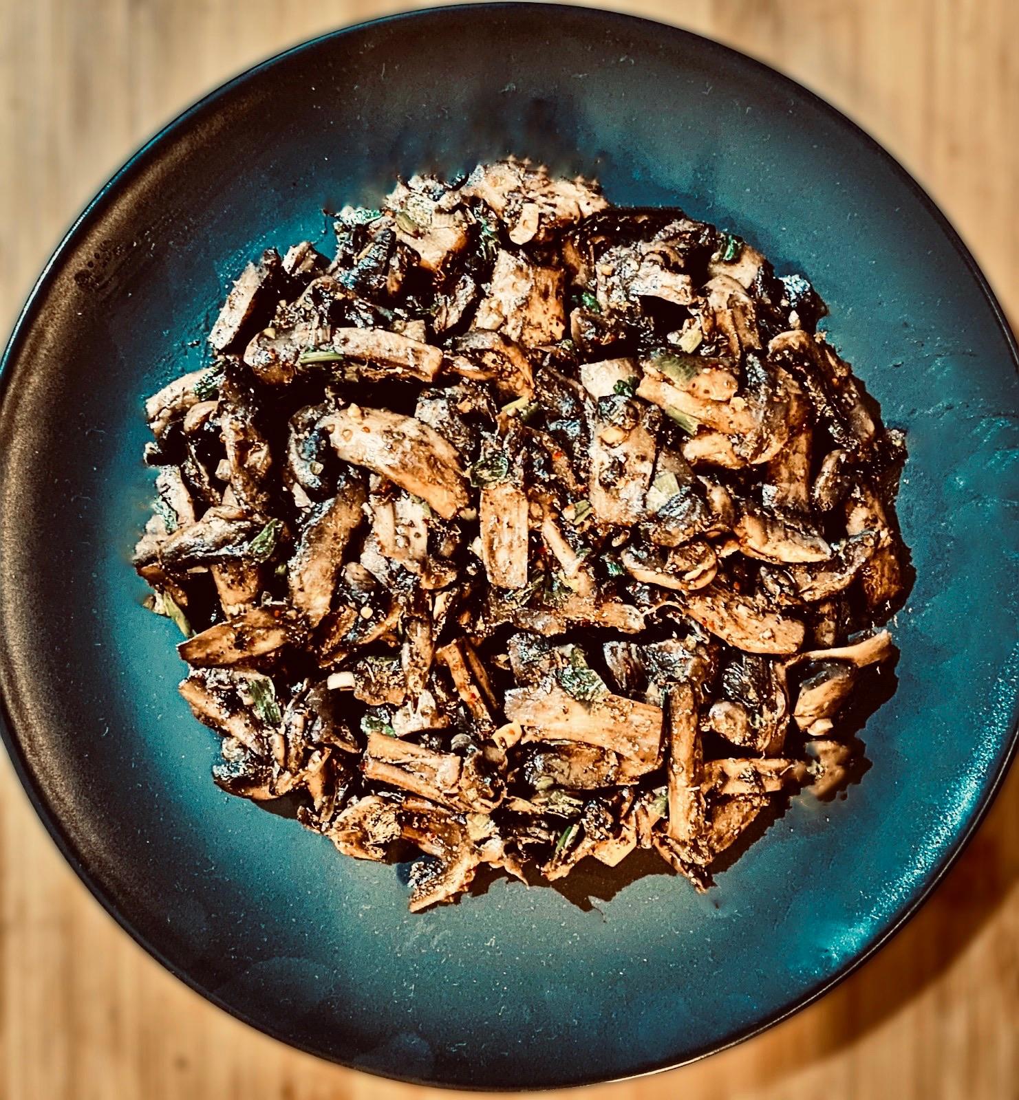 Mushroom Sautes