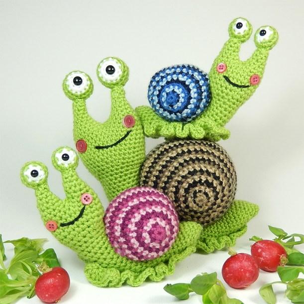 Snail-Trio