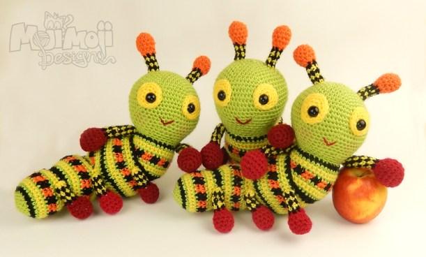 Three-caterpillars
