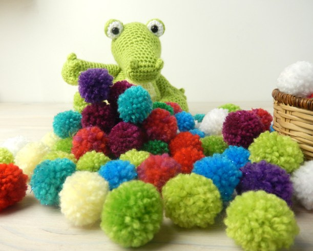 Croc-and-Pompoms