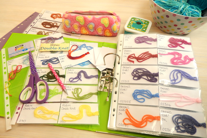 yarn-cataloguing