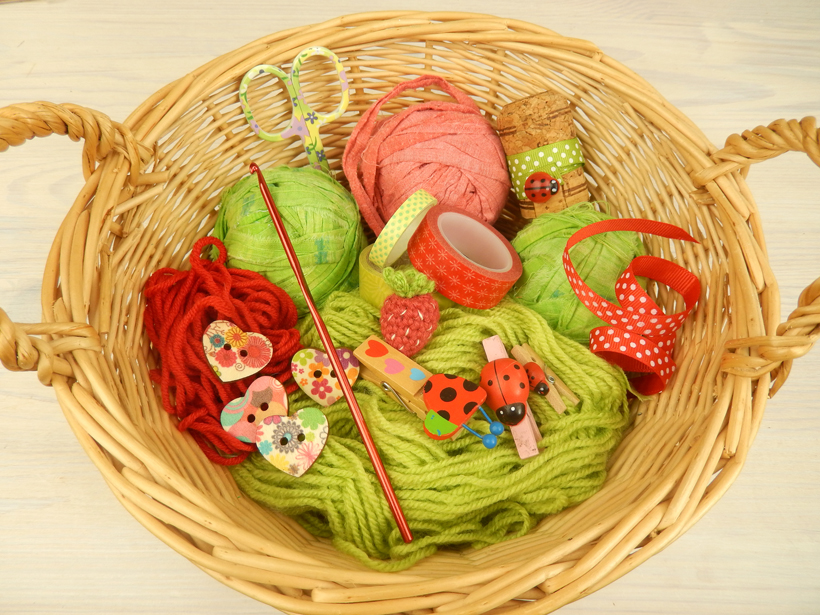 red-and-green-basket