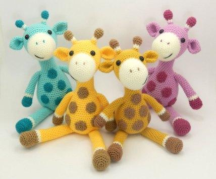 four-giraffes