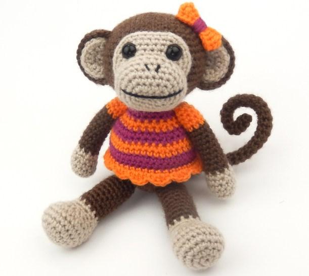 Amigurumi Monkey - pattern no longer available! - Pattern Center | 545x611