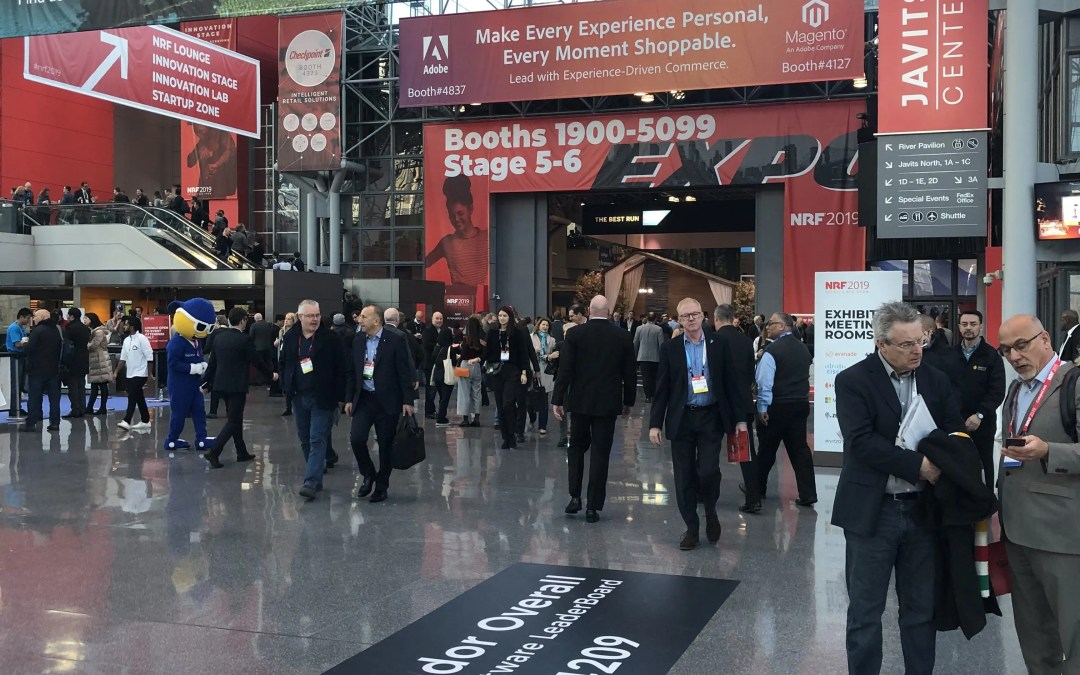 NRF 2019 – Day 1 with Mojix