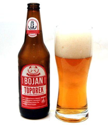 Bojan Toporek - piwo dla strażaków