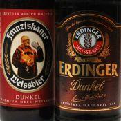 Franziskaner & Erdinger DunkelWeizen