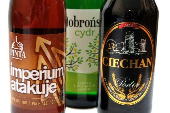 piwo specjalne oraz cydr