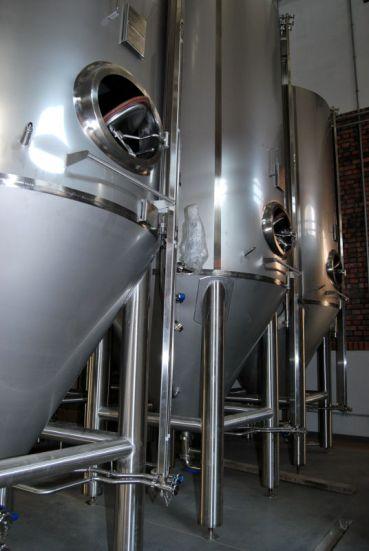 Piwo będzie leżakować w sześciu tankach o pojemności 40 hl