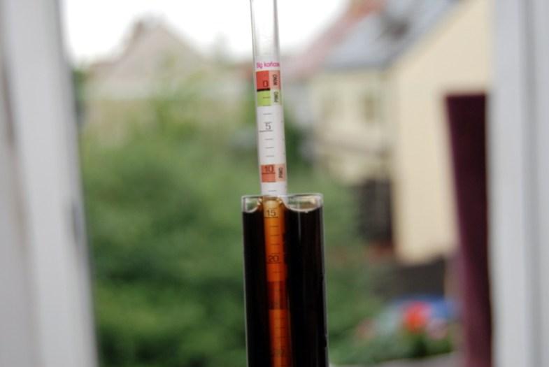 ekstrakt w piwie - balingomierz