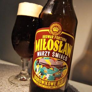 Miłosław Borowikowe Ale - piwo z grzybami