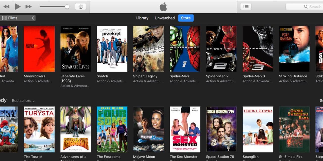 5 filmów po 3,99 Euro które warto kupić w iTunes