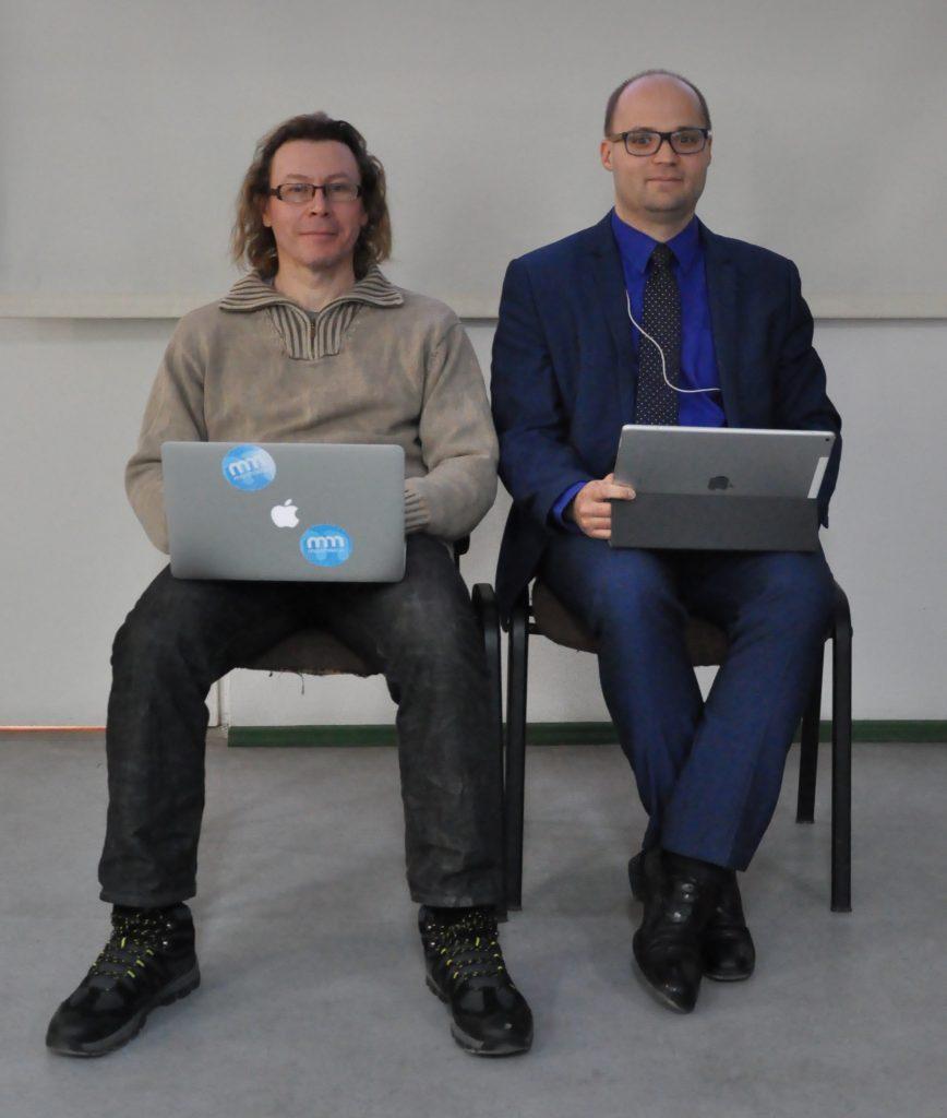 Od lewej: Jaromir Kopp i Łukasz Banaszak