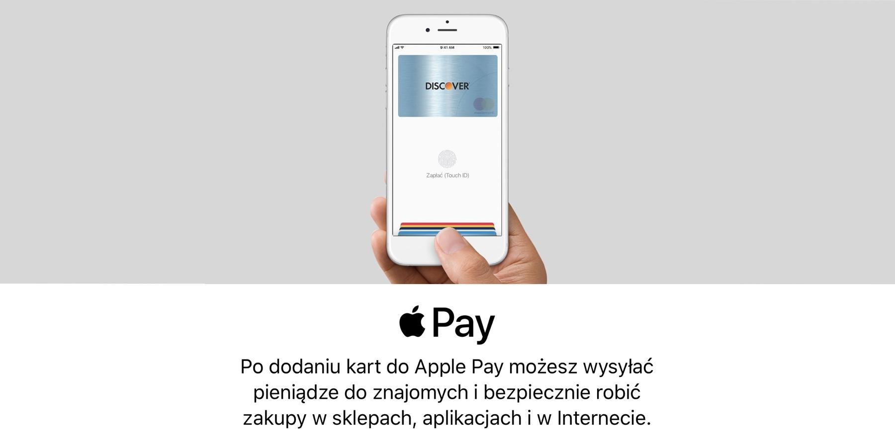 facad2dc5154b0 Apple Pay w Polsce, jak dodać karty, jak używać, lista banków - Mój Mac