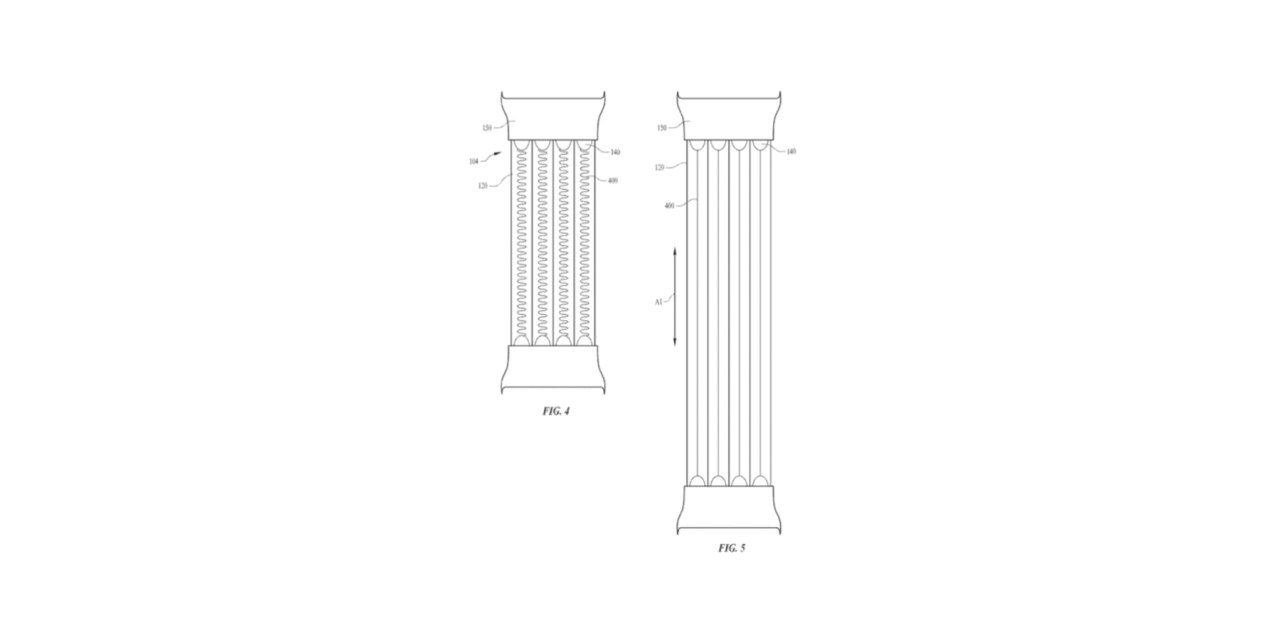 Pasek kameleon do Apple Watch? Patent Apple