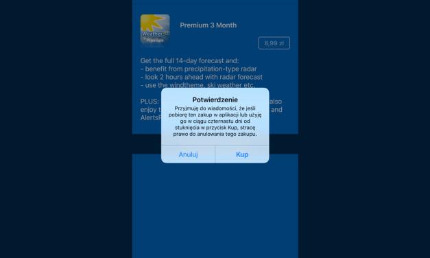 Subskrypcje bezpieczniejsze, Apple wprowadza dodatkowe potwierdzenie
